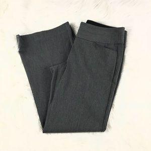 Express | Grey Editor Wide Leg Pants